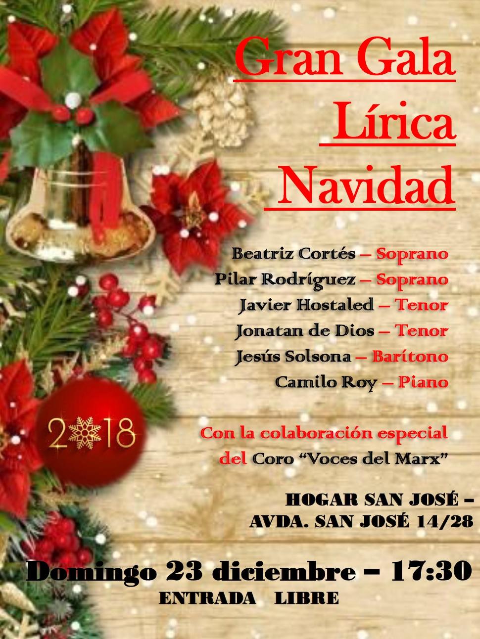 Gala Navideña 2018